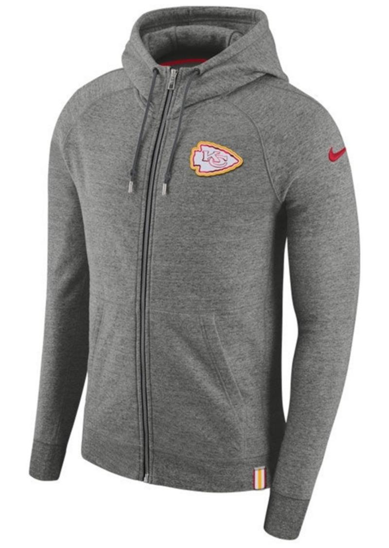 0f3bf7c3015 Nike Nike Men s Kansas City Chiefs Full-Zip Hoodie