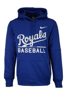 Nike Men's Kansas City Royals Therma Hoodie