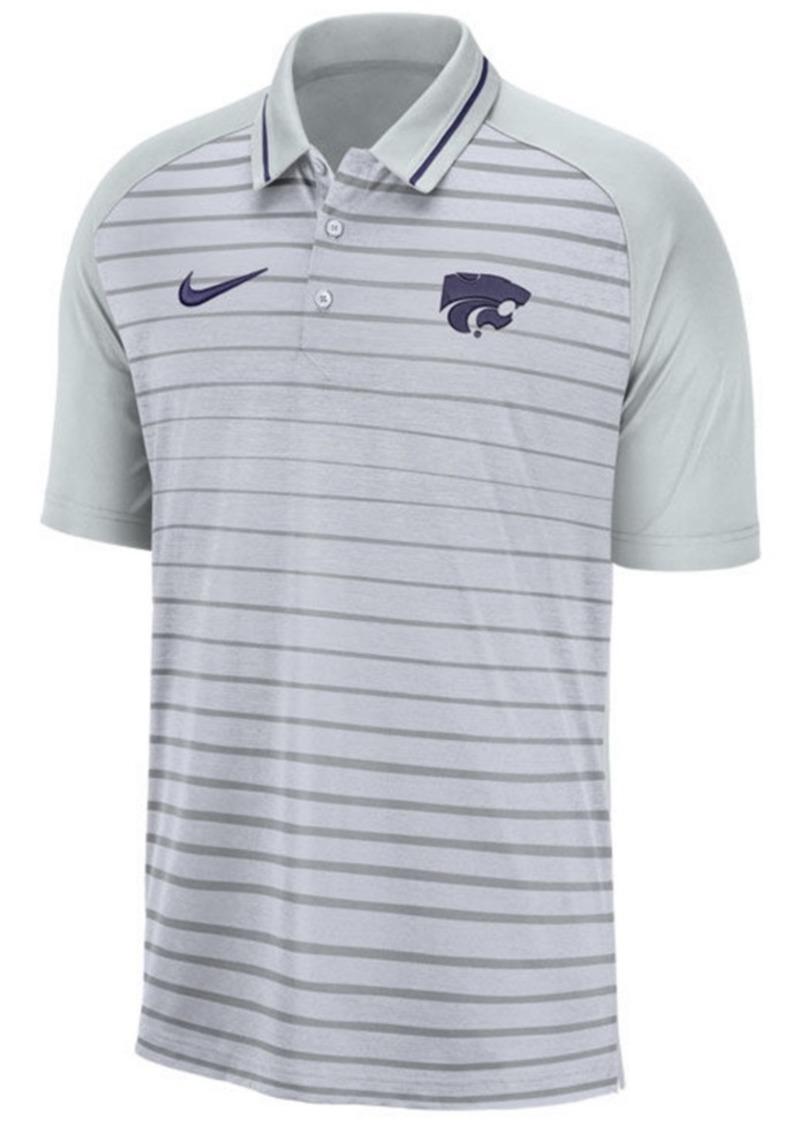 Nike Men's Kansas State Wildcats Stripe Polo