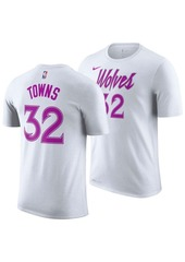 Nike Men's Karl-Anthony Towns Minnesota Timberwolves Earned Edition Player T-Shirt