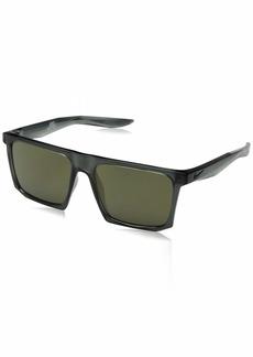 Nike Men's Ledge Rectangular Sunglasses  56 mm