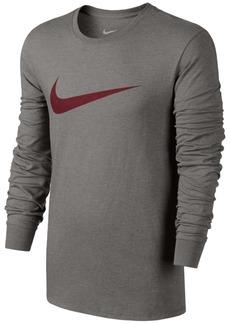 Nike Mens Long Sleeve Swoosh T-Shirt