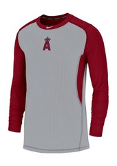 Nike Men's Los Angeles Angels Authentic Collection Game Top Pullover
