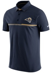Nike Men's Los Angeles Rams Elite Polo Shirt