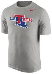 Nike Men's Louisiana Tech Bulldogs Dri-Fit Legend Wordmark T-Shirt