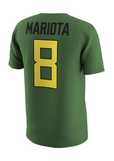 Nike Men's Marcus Mariota Oregon Ducks Name and Number T-Shirt
