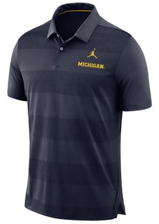 Nike Men's Michigan Wolverines Early Season Coaches Polo