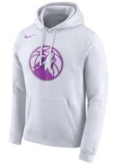 Nike Men's Minnesota Timberwolves Earned Edition Logo Essential Hoodie