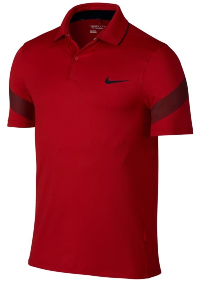 Nike Men's Mm Fly Framing Commander Dri-fit Golf Polo