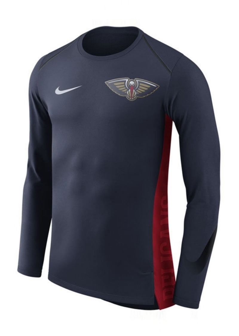 d76bacfa Nike Nike Men's New Orleans Pelicans Hyperlite Shooter Long Sleeve T ...