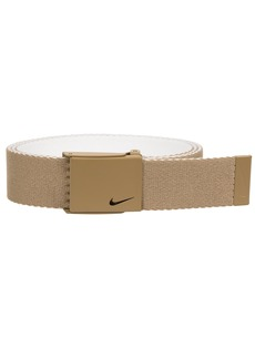 Nike Men's New Tech Essentials Reversible Web Belt khaki/white