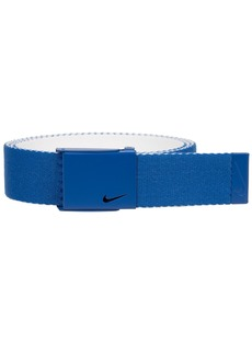 Nike Men's New Tech Essentials Reversible Web Belt game royal/white