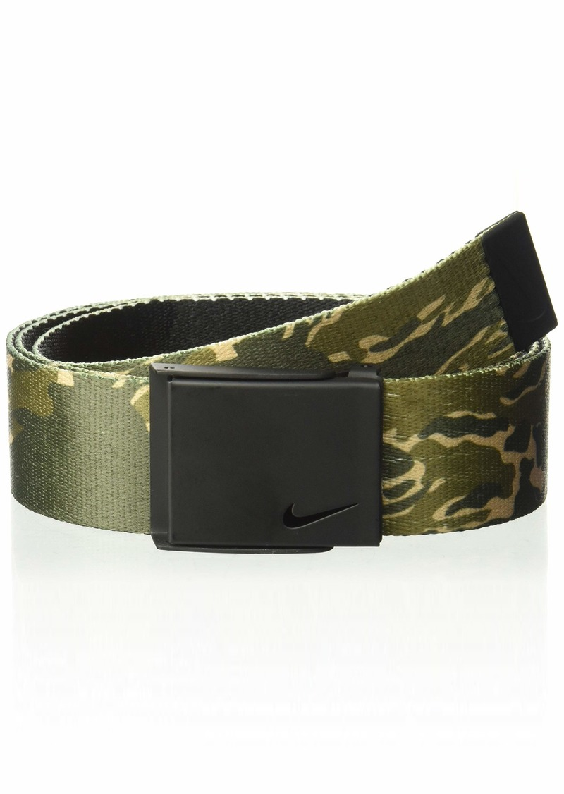 56353ada5a SALE! Nike NIKE Men's New Tech Essentials Reversible Web Belt Olive ...