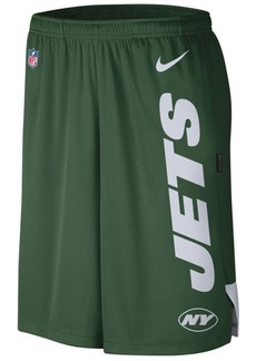 Nike Men's New York Jets Player Knit Breathe Shorts