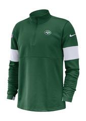 Nike Men's New York Jets Sideline Therma-Fit Half-Zip Top