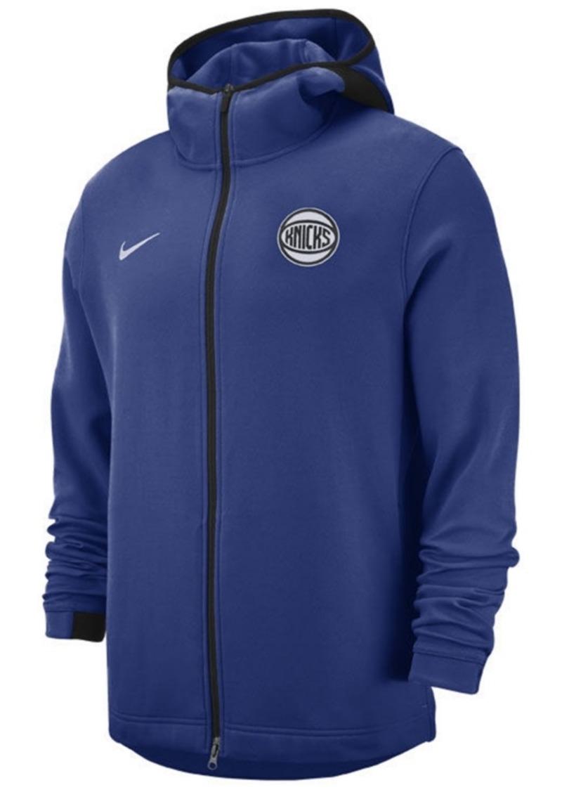 Nike Men's New York Knicks Dry Showtime Full-Zip Hoodie