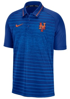 Nike Men's New York Mets Stripe Game Polo