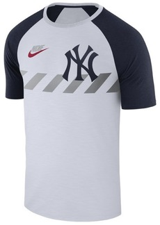 Nike Men's New York Yankees Walkoff Raglan T-Shirt