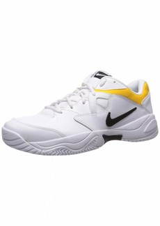 NIKE Men's Nike Court Lite 2 Shoe white/black - white  Regular US