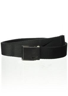 Nike Men's Embroidered Swoosh Web Belt