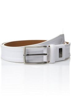 Nike Men's Trapunto G-flex Belt white