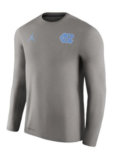 Nike Men's North Carolina Tar Heels Dri-Fit Touch Longsleeve T-Shirt