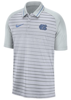 Nike Men's North Carolina Tar Heels Stripe Polo