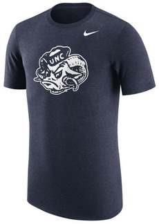 Nike Men's North Carolina Tar Heels Vault Logo Tri-Blend T-Shirt