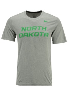 Nike Men's North Dakota Fighting Hawks Dri-Fit Legend Wordmark T-Shirt