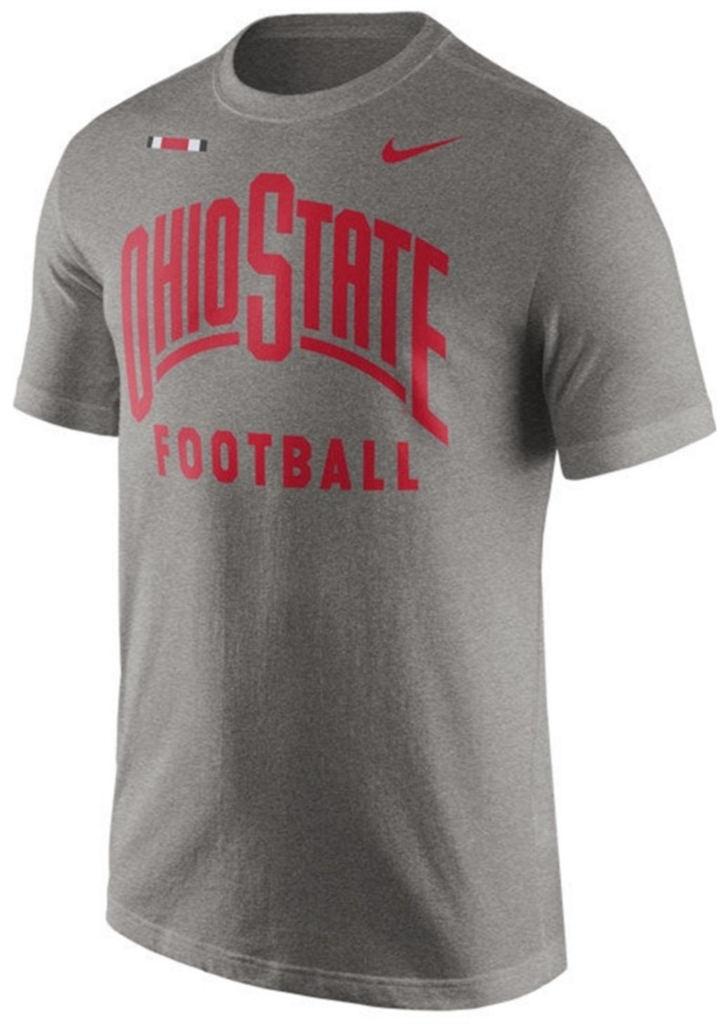 Nike nike men 39 s ohio state buckeyes facility t shirt for Ohio state shirts mens