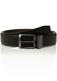 Nike Men's Pebble Feather Edge Reversible Belt black/brown