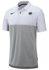 Nike Men's Penn State Nittany Lions Dri-Fit Colorblock Breathe Polo