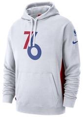 Nike Men's Philadelphia 76ers Earned Edition Courtside Hoodie