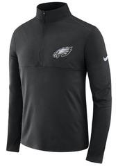 Nike Men's Philadelphia Eagles Core Modern Quarter-Zip Pullover