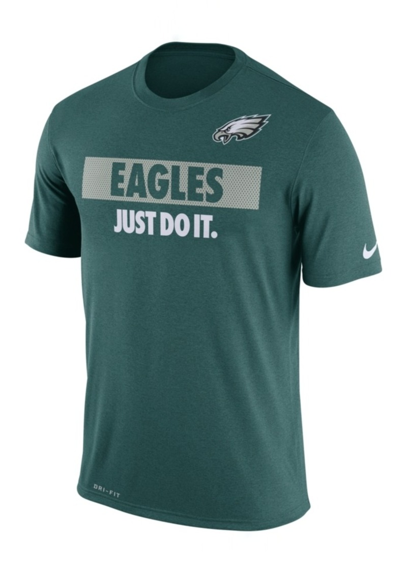 Nike Men's Philadelphia Eagles Just Do It T-Shirt