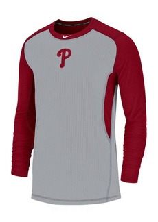 Nike Men's Philadelphia Phillies Authentic Collection Game Top Pullover