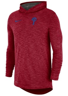 Nike Men's Philadelphia Phillies Dry Slub Hooded T-Shirt