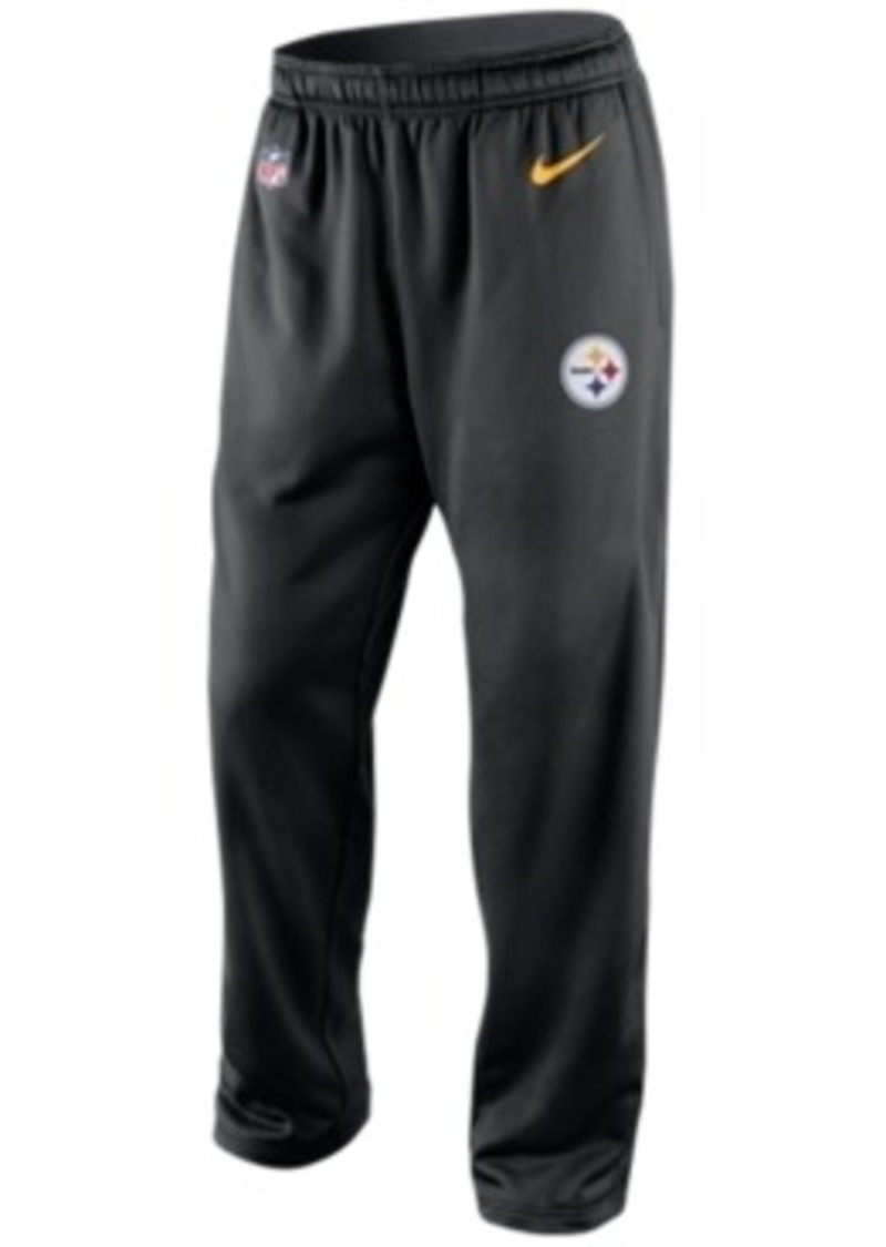 Nike Nike Men S Pittsburgh Steelers Ko Fleece Pants
