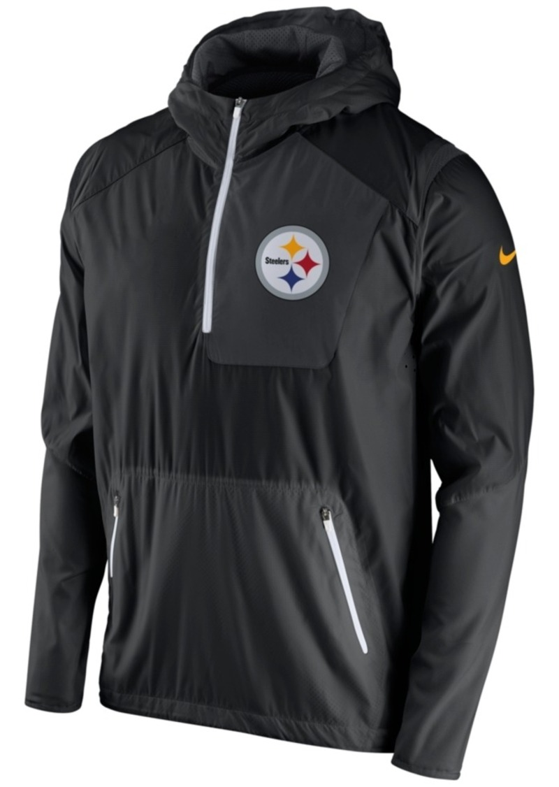 Nike Men's Pittsburgh Steelers Vapor Speed Fly Rush Hooded Jacket