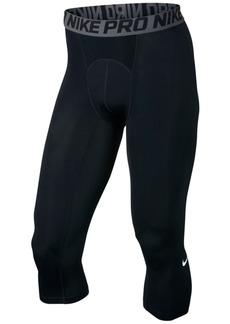 Nike Men's Pro Cool Dri-fit 3/4 Compression Leggings