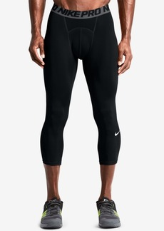Nike Men's Pro Cool Dri-fit 3/4 Compression Leggings
