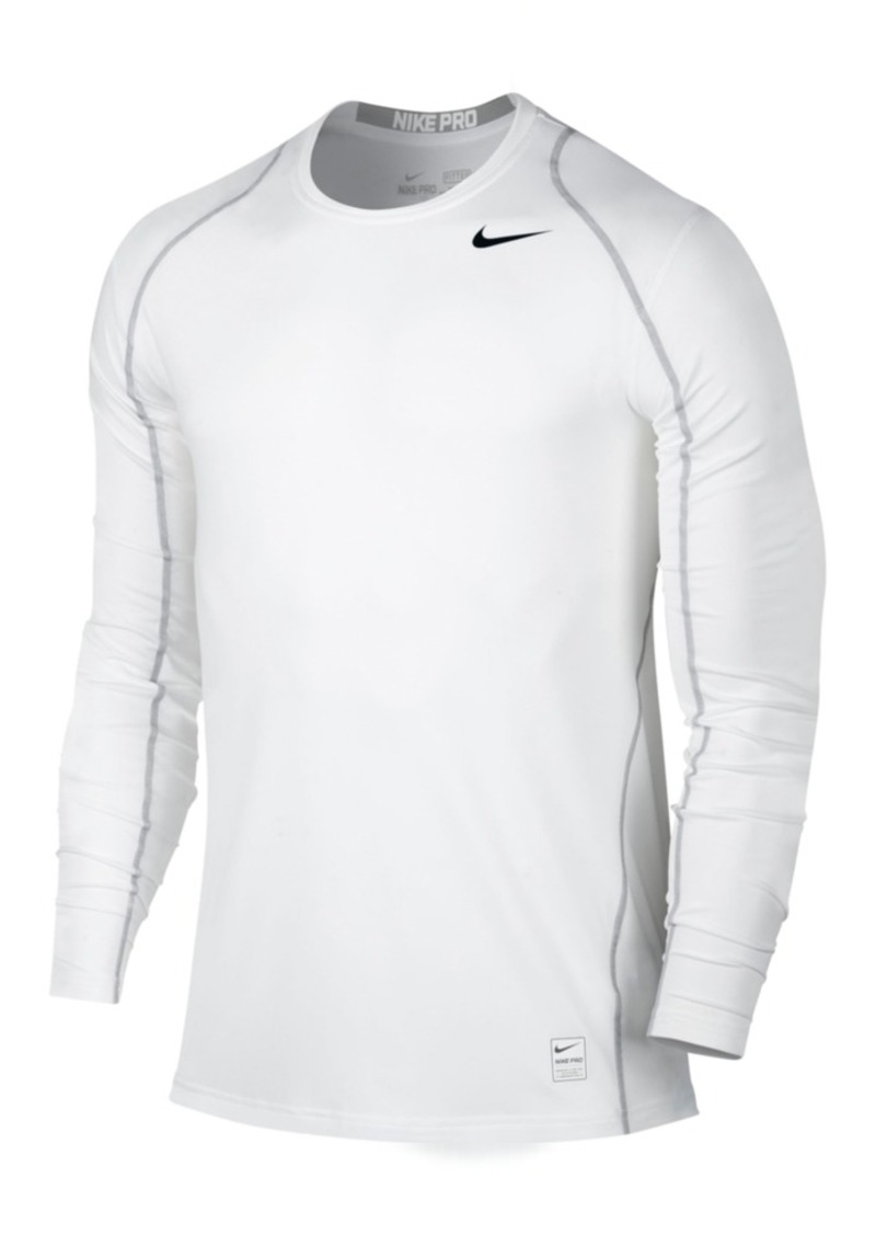 Nike Nike Men 39 S Pro Cool Dri Fit Fitted Long Sleeve Shirt
