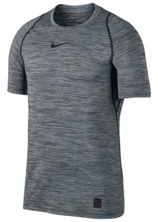 Nike Men's Pro Dri-fit Fitted Heathered T-Shirt