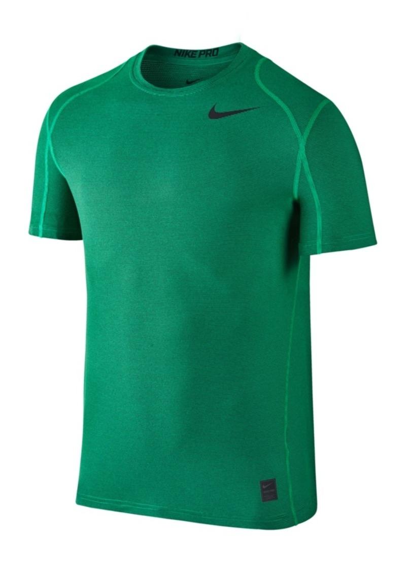 de487f93 Nike Nike Men's Pro Dri-fit Fitted Striped Training Top | T Shirts