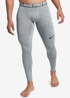 Nike Men's Pro Dri-fit Heathered Leggings