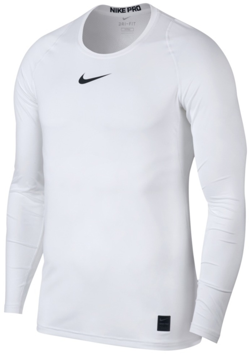 the best attitude a20d3 ce9db Nike Men s Pro Fitted Long Sleeve Training Shirt