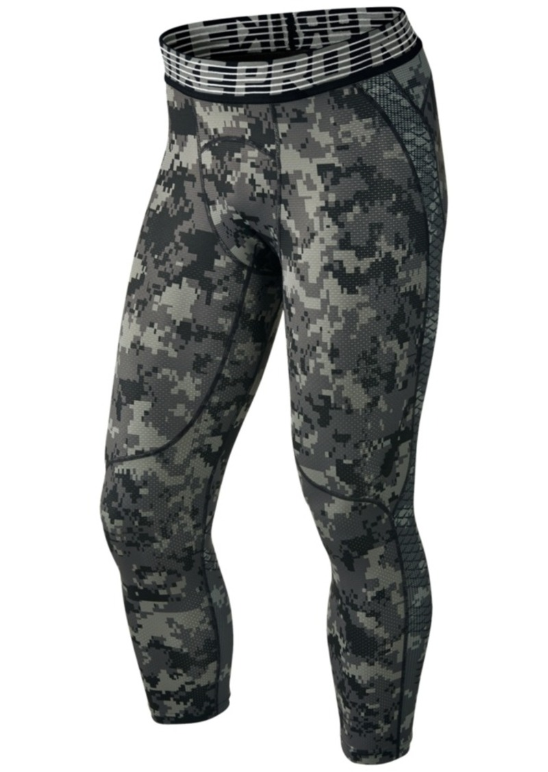 11daa658f500b Nike Nike Men's Pro Hypercool Camo-Print 3/4 Compression Tights ...
