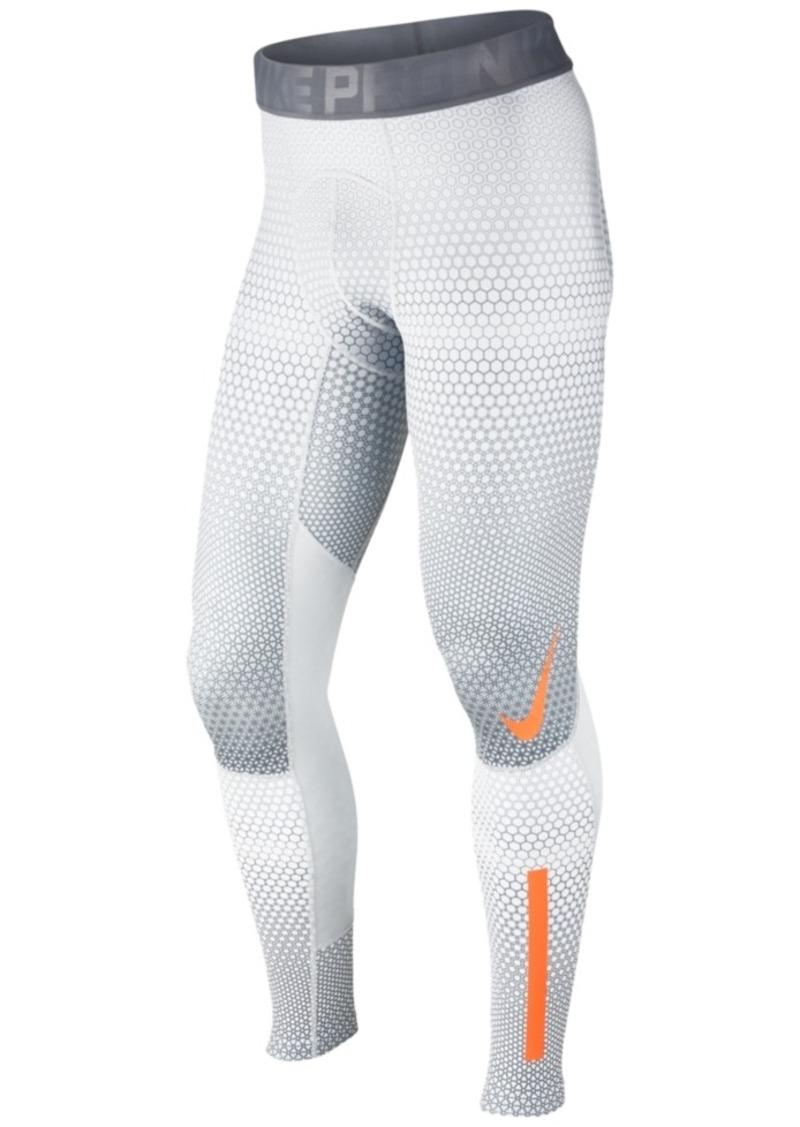 nike nike men 39 s pro hyperwarm hexodrome leggings casual. Black Bedroom Furniture Sets. Home Design Ideas