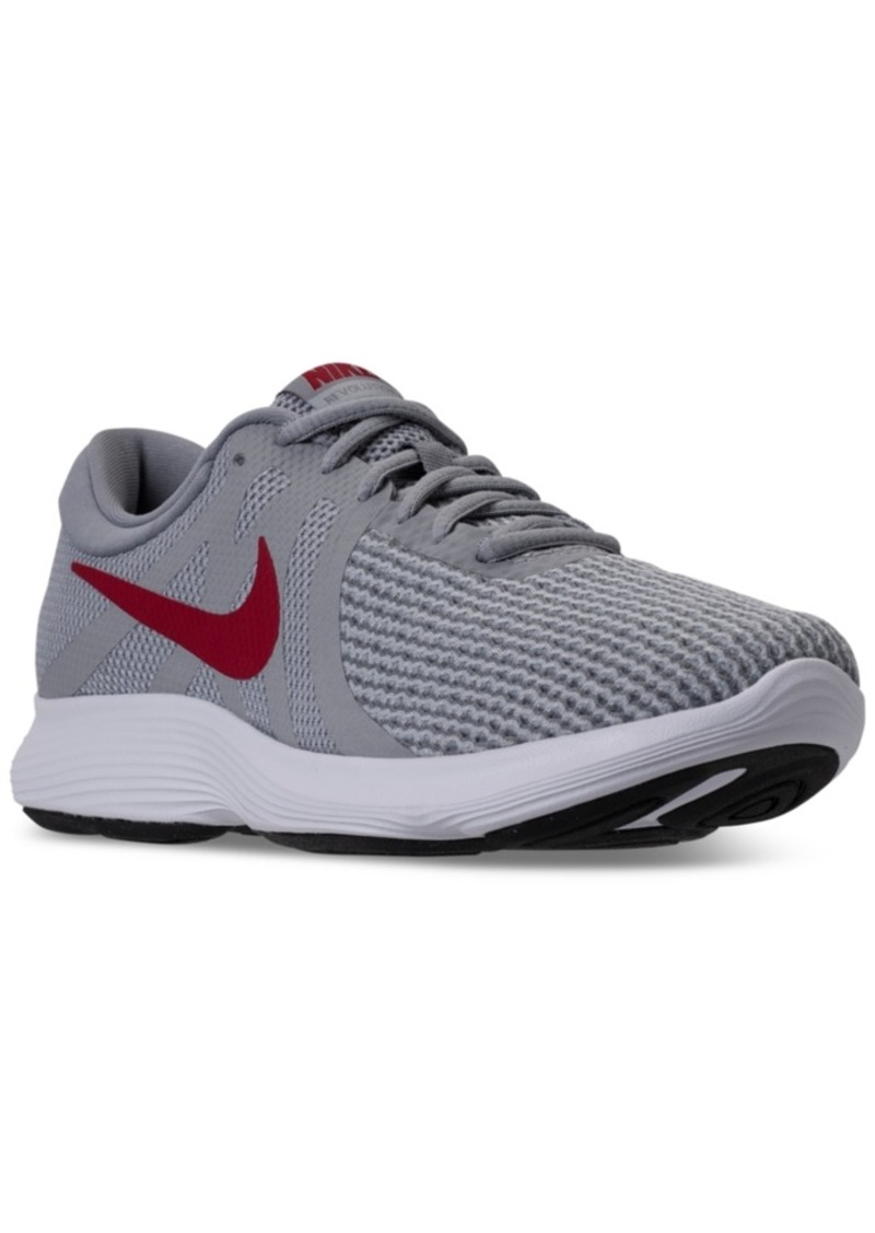 ab3f07ca673 Nike Nike Men s Revolution 4 Wide Width (4E) Running Sneakers from ...