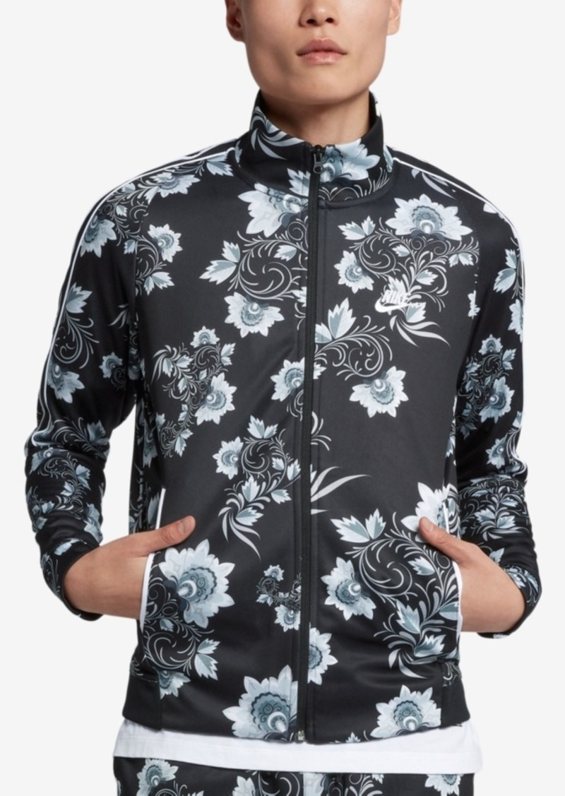 0a8c2902f3 On Sale today! Nike Nike Men s Russian-Floral Inspired Track Jacket